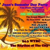Juan Castillo's Summer Day Party – Saturday, July 19, 2014