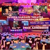 Juan Castillo's Day Party:  The Autumn Affair