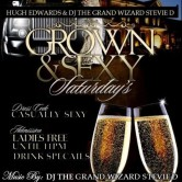 Grown & Sexy Saturdays w/ The Grand Wizard Stevie 'D' At Liquid Lava Lounge, 1537 Dixwell Ave, Hamden, CT