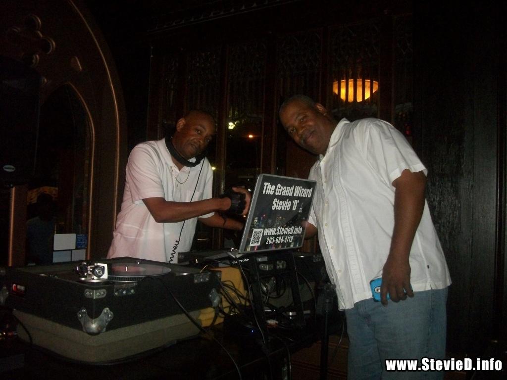 The Grand Wizard Stevie 'D' & DJ Doc Martin