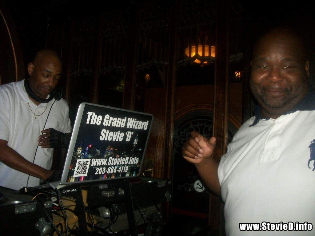 The Grand Wizard Stevie 'D' & DJ Diamond Dee