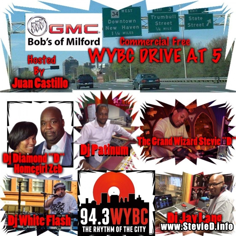94.3 WYBC-FM Drive At 5 w/ Juan Castillo & The WYBC Mix Masters