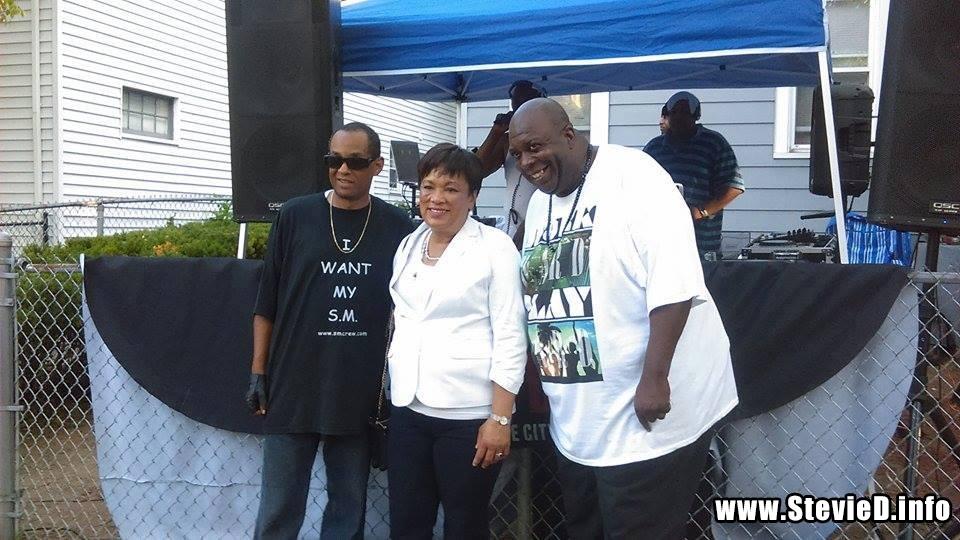 "The Grand Wizard Stevie 'D', Mayor Toni Harp, The Great Doc-""P"""