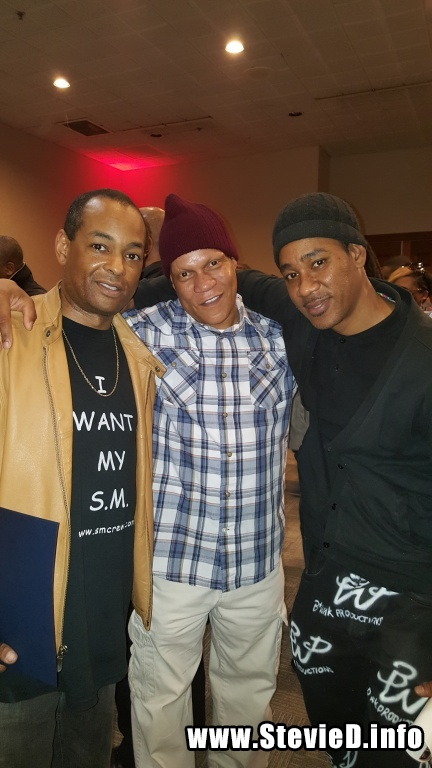 The Grand Wizard Stevie 'D', DJ Reggie Reg, Bwak