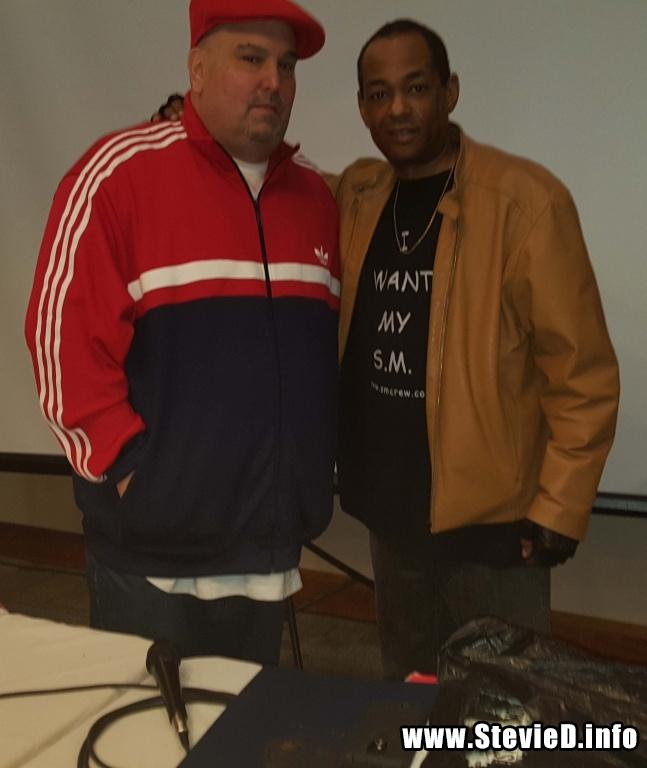 The Legendary DJ White Flash & The Grand Wizard Stevie 'D'
